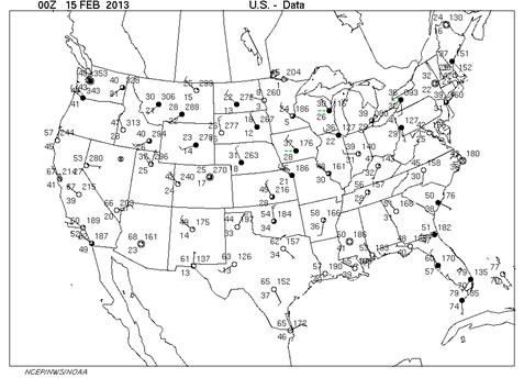 Us Weather Surface Map - Us current surface map